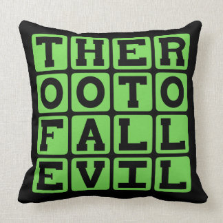 The Root Of All Evil, Money That Is Throw Pillows