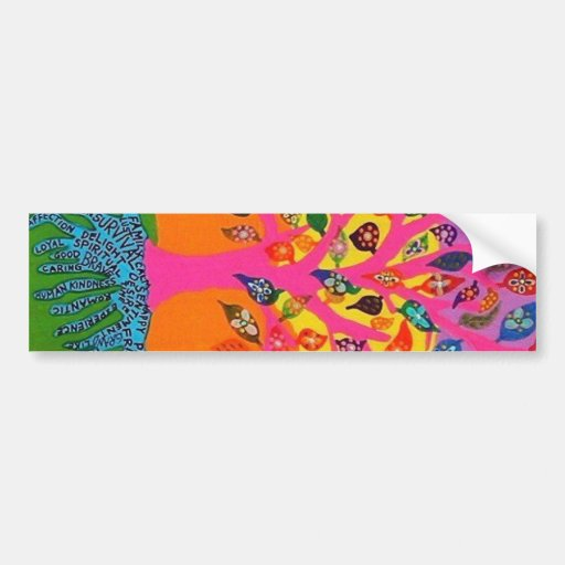 The Root Of Knowledge - Tree Of Life Bumper Sticker