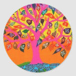 The Root Of Knowledge - Tree Of Life Classic Round Sticker