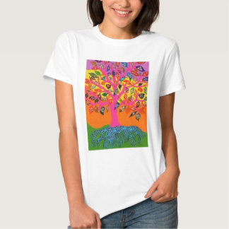 The Root Of Knowledge - Tree Of Life T Shirt