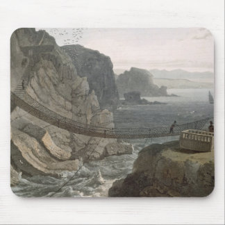 The Rope Bridge near the Lighthouse, Holyhead, fro Mouse Pad
