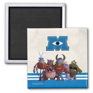 The RORs 2 Inch Square Magnet