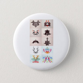 The Rorschach Test Ink Blots All 10 Plates 1-10 Button