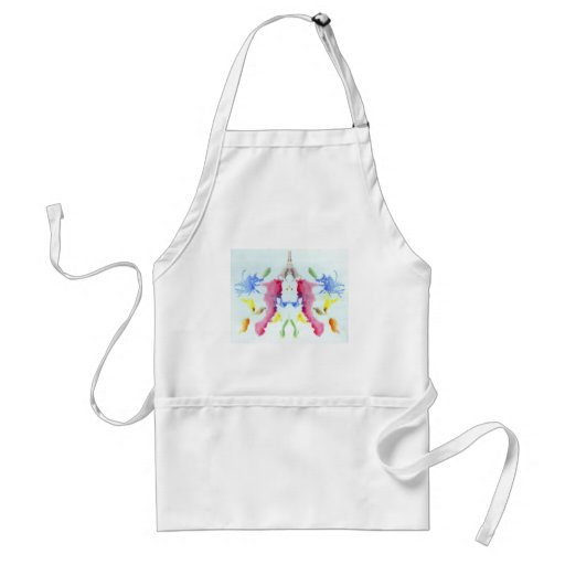 The Rorschach Test Ink Blots Plate 10 Crab Lobster Adult Apron