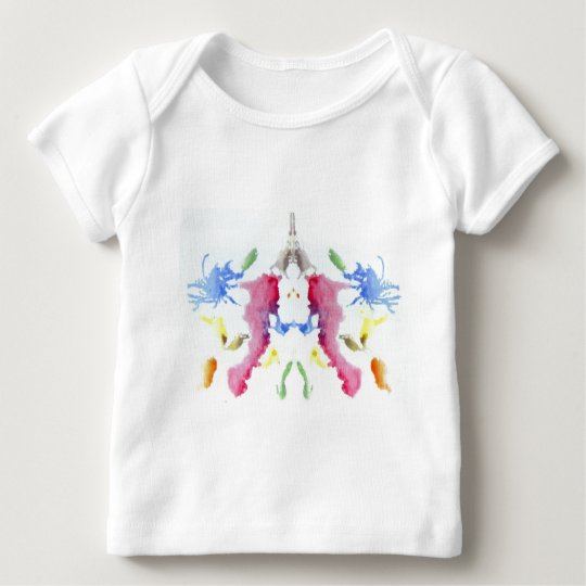The Rorschach Test Ink Blots Plate 10 Crab Lobster Baby T-Shirt