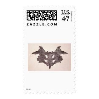 The Rorschach Test Ink Blots Plate 1 Bat, Moth Stamp