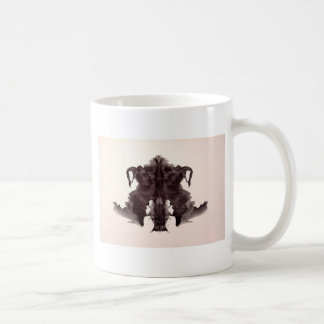 The Rorschach Test Ink Blots Plate 4 Animal Skin Coffee Mug