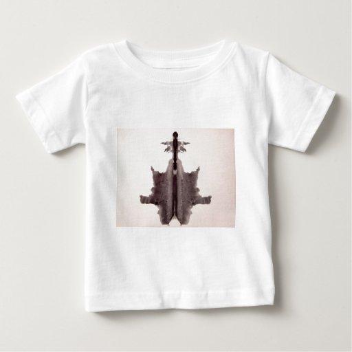 The Rorschach Test Ink Blots Plate 6 Hide Skin Rug T Shirt