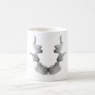 The Rorschach Test Ink Blots Plate 7 Heads Faces Coffee Mug