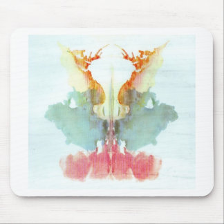 The Rorschach Test Ink Blots Plate 9 Human Mouse Pads