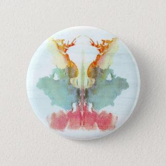 The Rorschach Test Ink Blots Plate 9 Human Pinback Button