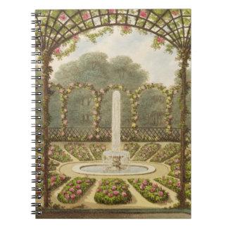The Rosary at Ashridge, pub. by J. Taylor, 1816 (l Note Books