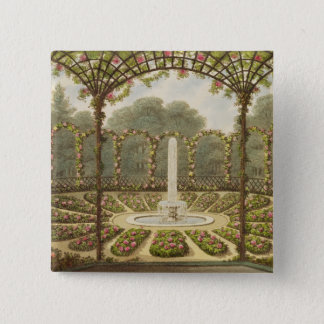 The Rosary at Ashridge, pub. by J. Taylor, 1816 (l Pinback Button