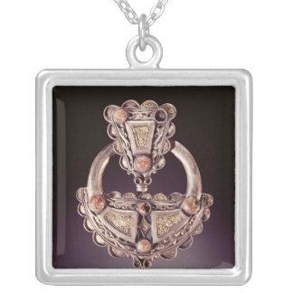 The Roscrea Brooch, from Roscrea Square Pendant Necklace