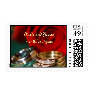The Rose and The Rings Stamps