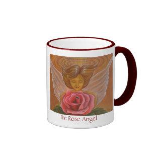 The Rose Angel Ringer Mug