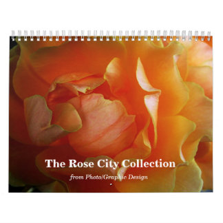 The Rose City Collection calendar