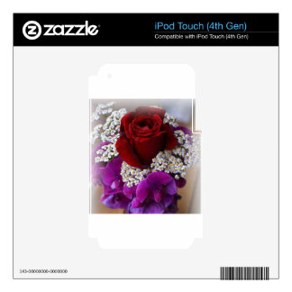The Rose Decals For iPod Touch 4G
