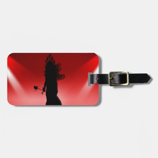 The Rose Empress Luggage Tag