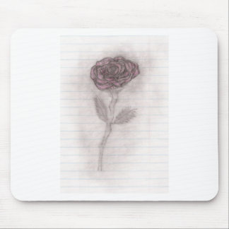 The Rose Fades Away Mouse Pad