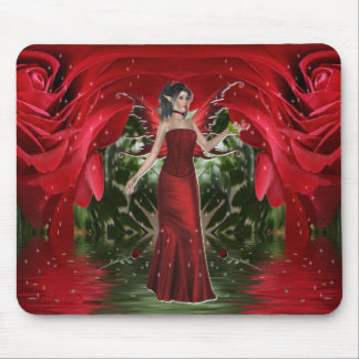 The Rose Fairy Mousepad