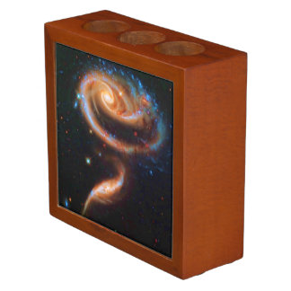 The Rose Galaxies, Arp 273 Outer Space Romance Desk Organizer