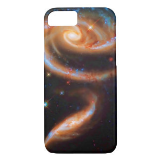 The Rose Galaxies, Arp 273 Outer Space Romance iPhone 8/7 Case