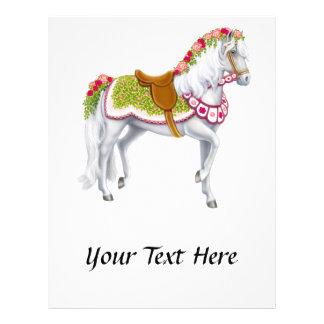 The Rose Horse Flyer Design