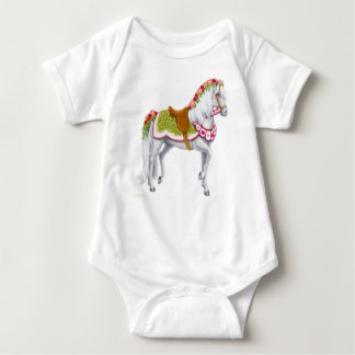 The Rose Horse Infant Baby Bodysuit