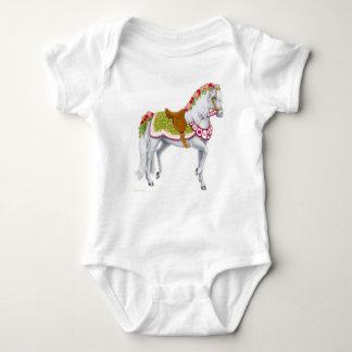 The Rose Horse Infant Infant Creeper
