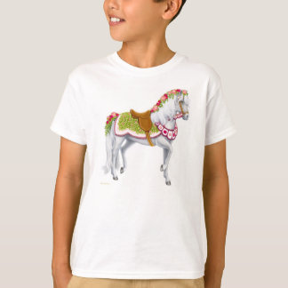 The Rose Horse Kids T-Shirt