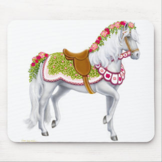 The Rose Horse Mousepad
