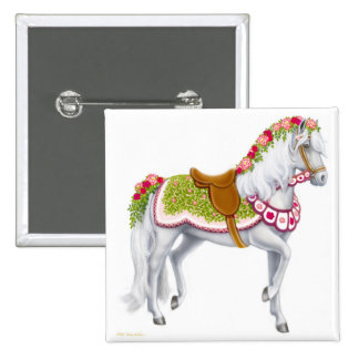 The Rose Horse Pin