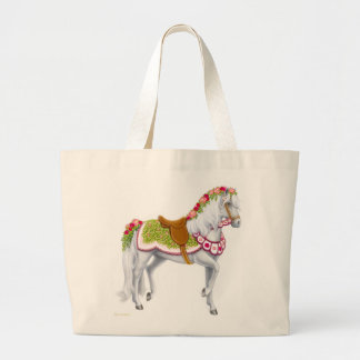 The Rose Horse Tote Bag