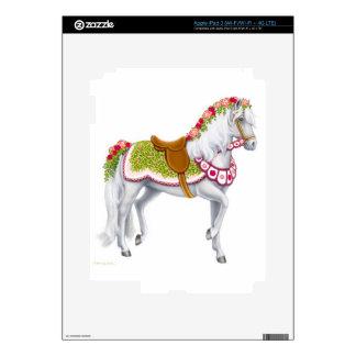 The Rose Horse Zazzle Skin iPad 3 Decal