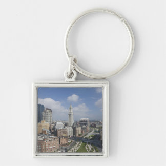 The Rose Kennedy Greenway of Boston, M Keychain