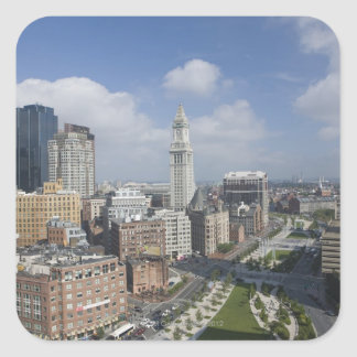 The Rose Kennedy Greenway of Boston, M Square Sticker