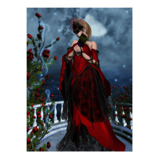 The Rose Masquerade Poster