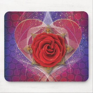 The Rose of Love Mousepad