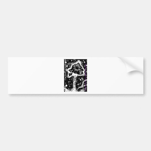 The Rose Of Midnight by Susan Wolf-Dancing Bumper Stickers