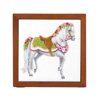 The Rose Parade Horse Desk Organizer