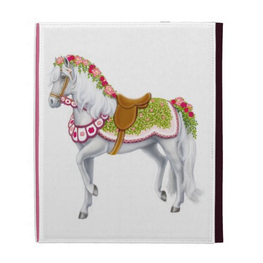 The Rose Parade Horse iPad Case