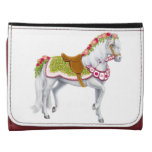 The Rose Parade Horse Leather Wallet