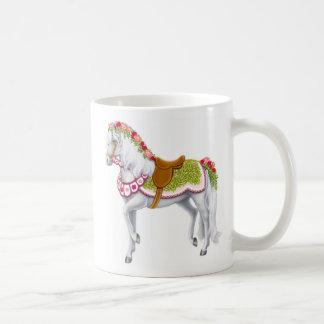 The Rose Parade Horse Mug