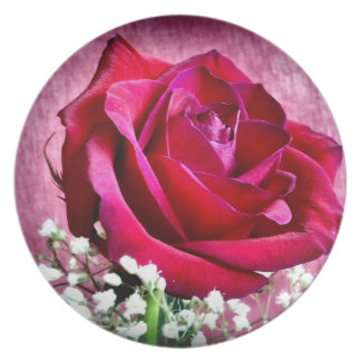 The rose Plate