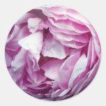 The Rose Round Sticker