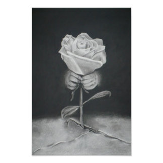 The Rose That Grew From Concrete Poster