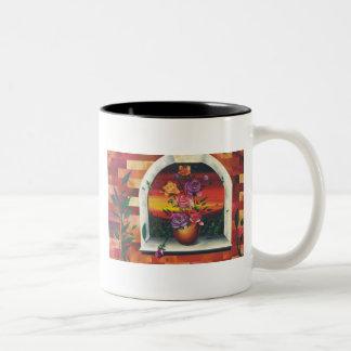 The Rose Two-Tone Coffee Mug