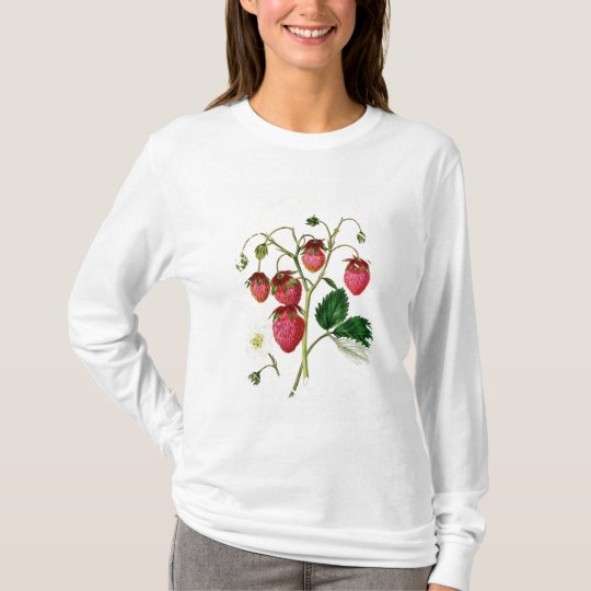 The Roseberry Strawberry, engraved by Watte T-Shirt
