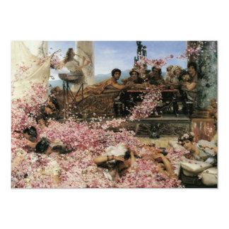 The Roses of Heliogabalus, 1888 Custom Invites